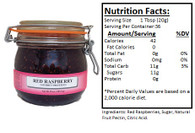 NORTHWEST BERRY GROWERS OREGON RED RASPBERRY PRESERVES - 25oz. Granny Jar