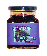 MARIONBERRY FRUIT SWEETENED SPREAD - 12 OZ SQUARE JAR