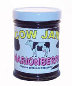 Cow Jam Seedless Marionberry Preserve Mini Jar