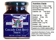Chili Berry Sauce by Gloria's Gourmet