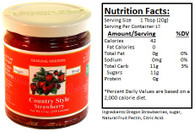 Genuine Oregon Strawberry - 12oz Jar