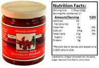 Genuine Oregon Strawberry Rhubarb - 12oz Jar