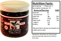 Genuine Oregon Bing Cherry Fruit Sweet - 10oz Jar