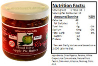 Genuine Oregon Apple Butter Fruit Sweet - 10oz Jar