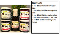 Cow Jam Variety Jam & Syrup Gift Box