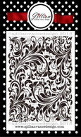 Vintage Floral Background Builder Stamp