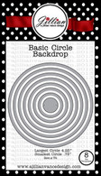 Circle Backdrop Die Set