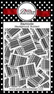 Bar Code Background Builder Cling Stamp