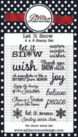Let it Snow Stamp Set