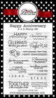 Happy Anniversary Stamp Set