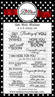 Get Well Wishes Stamp Set