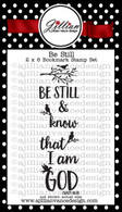 Be Still Bookmark Stamp Set
