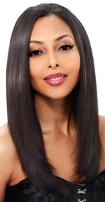 Janet Collection Remy Human Hair Fit Clip Weave 14""