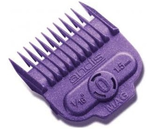 """Andis Nano Silver Magnetic Comb Size 1/16"""" 1.5mm 66430"""