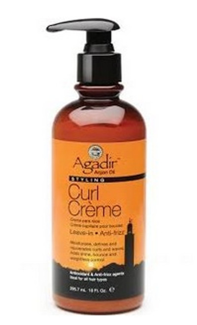 Agadir Argan Oil Styling Curl Creme Leave In Anti Frizz For Hair 10oz