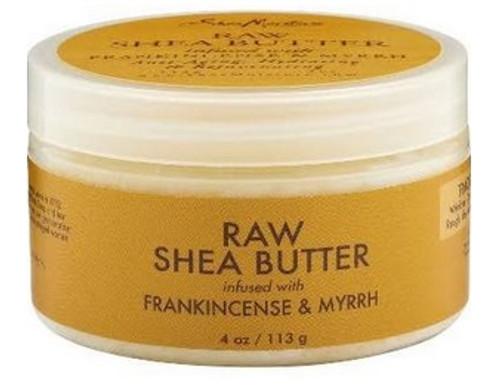 Shea Moisture Raw Shea Butter Infused with Frankincense & Myrrh - 4 oz jar