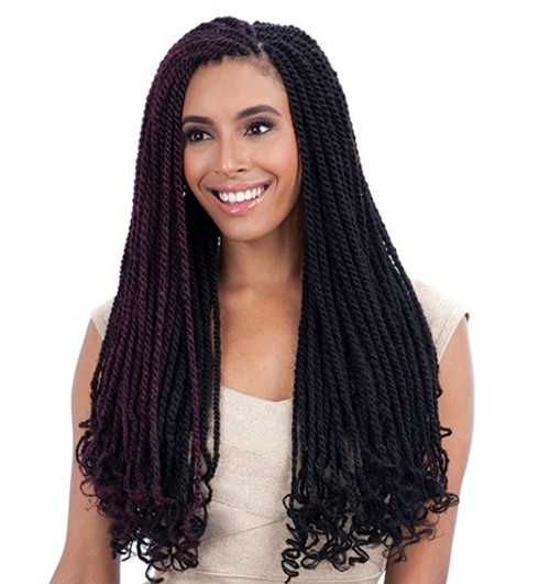 Freetress Equal Synthetic Braid CUBAN TWIST BRAID 24""
