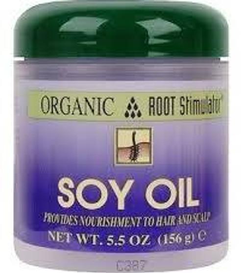Organic Root Simulator Soy Oil Nourishment Strengthen For Hair & Scalp- 5.5oz