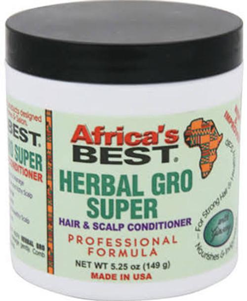 Africa's Best Herbal Gro Super Hair & Scalp Conditioner 5.25oz