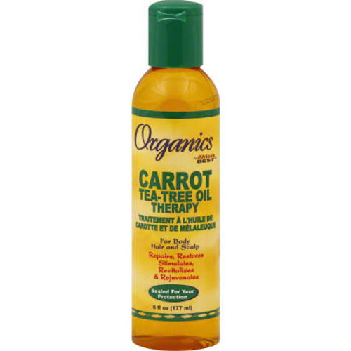 Africa's Best Organics Carrot Tea-Tree Oil Therapy - 6oz