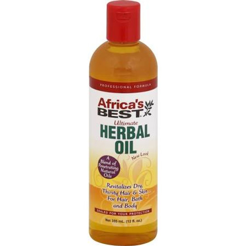 Africas Best Ultimate Herbal Oil, 8 oz