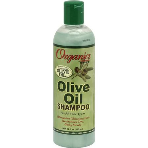 Africa's Best Organics Olive Oil Shampoo, for All Hair Types - 12oz