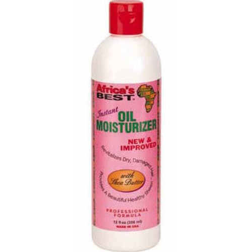 Africa's Best Instant Oil Moisturizer with Shea Butter 12oz