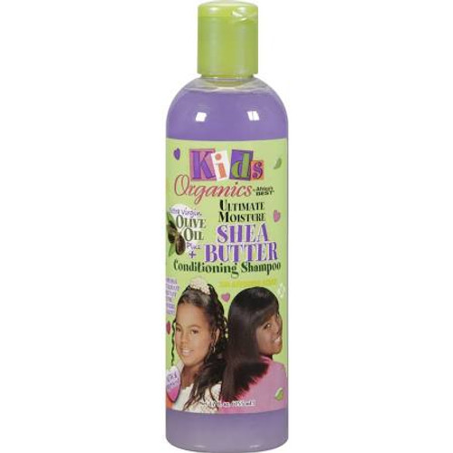 Africa's Best Kids Organics Shampoo, Conditioning, Ultimate Moisture, Shea Butter - 12 oz
