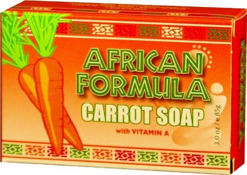 African Formula Carrot Soap 3 oz.