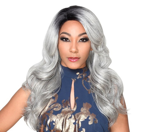 Sister Wig Hand-Made Invisible Top Remy  Lace Wig- IV LACE H ARI