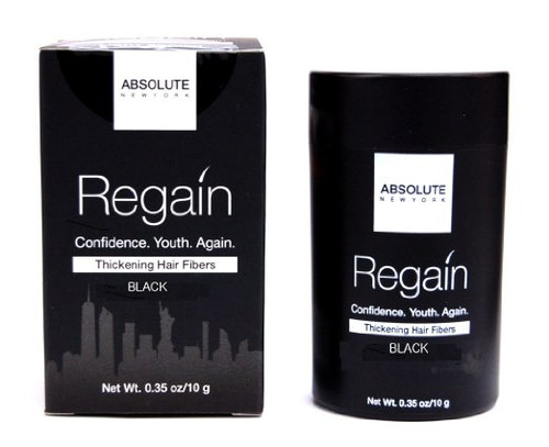 Absolute New York Regain Thickening Hair Fibers BLACK- 23g