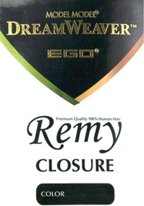 Model Model Dreamweaver Ego Remy Hair Closure