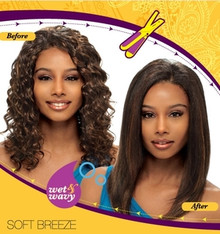Janet Collection Indian Remy Human Hair Weave Soft Breeze
