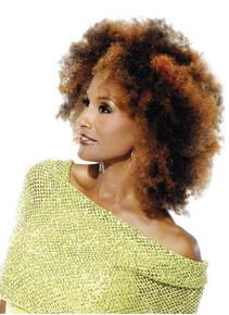 "Beverly Johnson Vivica Fox Kinky Afro Bulk 16"" Human Hair"