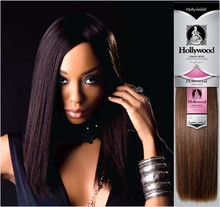 "Hollywood Virgin Remy Yaky Weave- 10s""- COLOR 1"