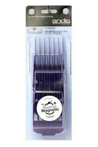 Andis Nano Silver Magnetic Comb Sets Large for Master Clipper #66320