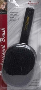 "ANNIE DELUXE PADDLE BRUSH #2204 10""x4"" BALL TIPPED BRISTLES REMOVE TANGLES"