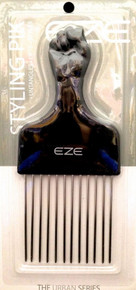 "ANNIE EZE FIST STYLING PIK 6.5""x2.75"" METAL PINS LONG PIK #6675 UNTANGLES LIFTS"