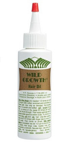WILD GROWTH CONCENTRATED HAIR OIL (4OZ)