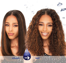 MilkyWay 100% Human Hair Weave Wet & Wavy - INDIAN NATURAL SPLASH