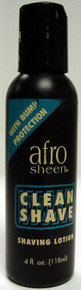 Afro Sheen Clean Shave Shaving Lotion 4 oz