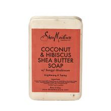 SheaMoisture Coconut & Hibiscus Shea Butter Soap- 8oz