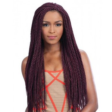 Home Braiding Hair Freetress Braid MEDIUM BOX BRAID (Crochet Braid)