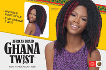 Harlem 125 Synthetic African Braid Ghana Twist 10in
