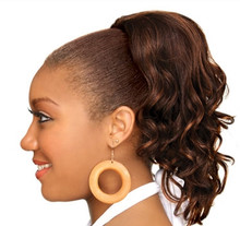 Hollywood Drawstring Ponytail HR Natural Wave