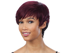 Shake N Go SAGA Milky Way 100% Remy Hair Wig- MISTY ROSE