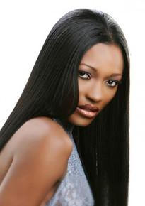 "Silhouette 100% Pure Human Hair Natural yaky Bulk 16"""