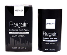 Absolute New York Regain Thickening Hair Fibers DARK BROWN- 23g