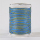 Sulky Blendables  733-4080 Cotton Thread 2-ply 30wt. 500 yds  Hawaiian Sea