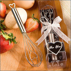 Heart Design Wire Whisk Favors: As low as $1.35 each + FREE SHIPPING